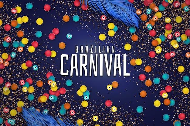 Carnevale brasiliano realistico