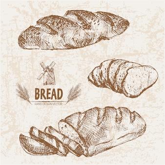 Realistic bread design