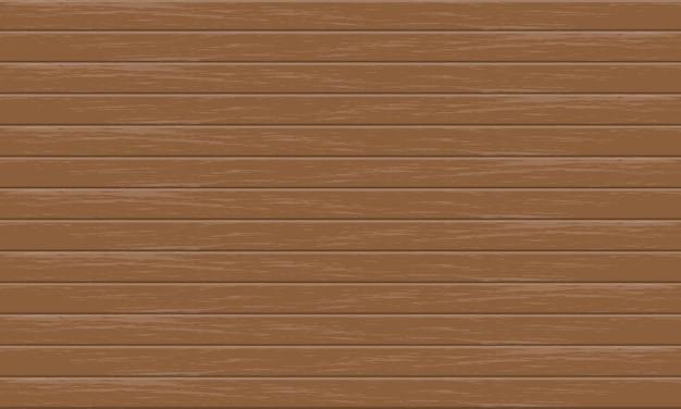 リアルな茶色の木板の背景