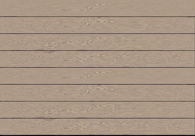 Realistic brown wood plank pattern background.