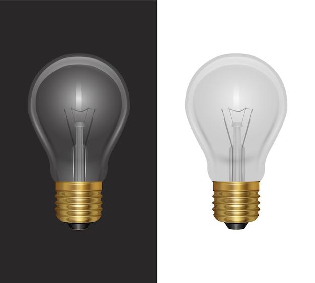 Реалистичная лампочка