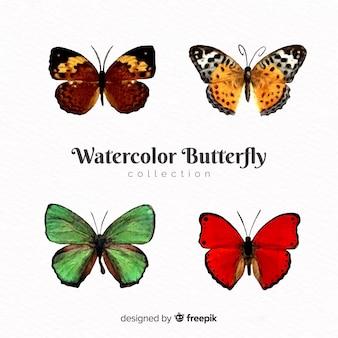 Коллекция реалистичных бабочек