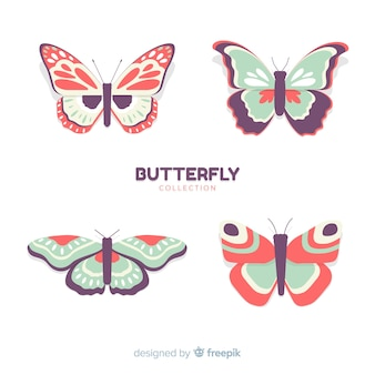 Realistic butterfly pack