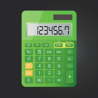 Realistic calculator