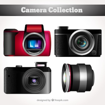 Realistic camera collection