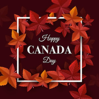 Реалистичная концепция дня канады