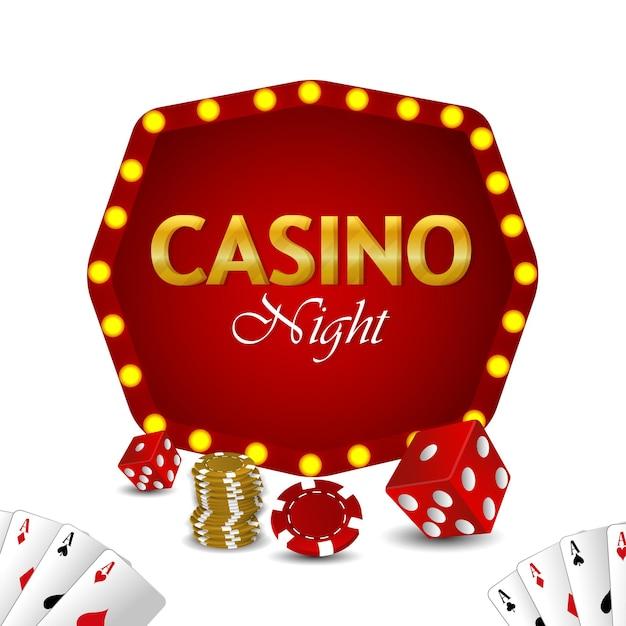Реалистичная рулетка казино с фишками и колесом казино
