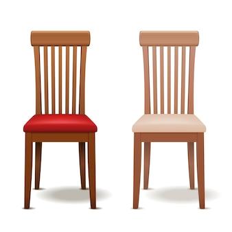 分離された現実的な椅子