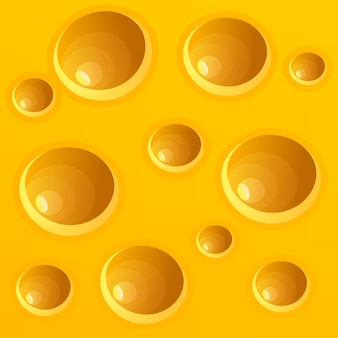 Realistic cheese texture background
