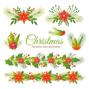 リアルなクリスマスデコレーション