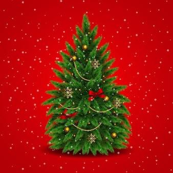 Реалистичная рождественская елка