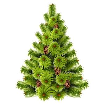 リアルなクリスマスツリー