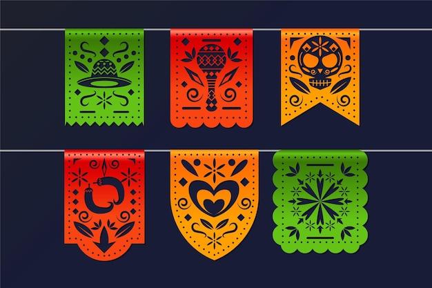 현실적인 cinco de mayo 멕시코 장식