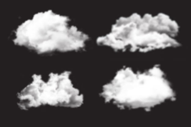 Realistic cloud collection
