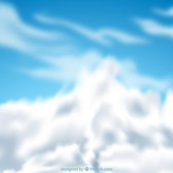 Реалистичный облачный фон неба