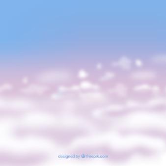 現実的な曇った空の背景