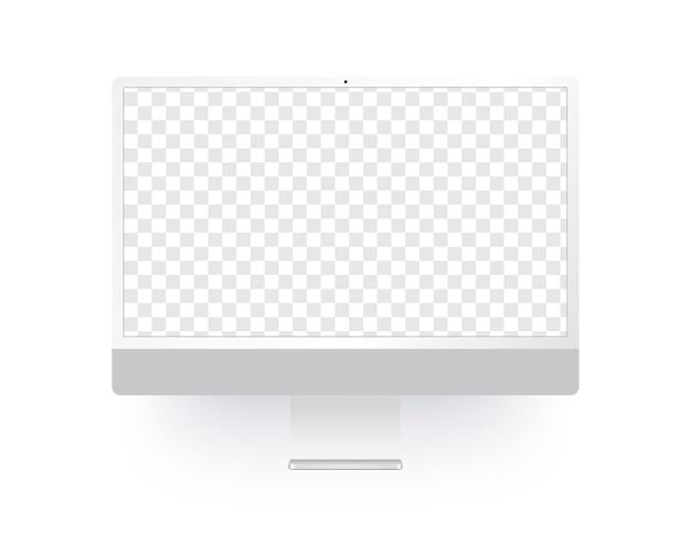 투명 스크린을 가진 현실적인 컴퓨터
