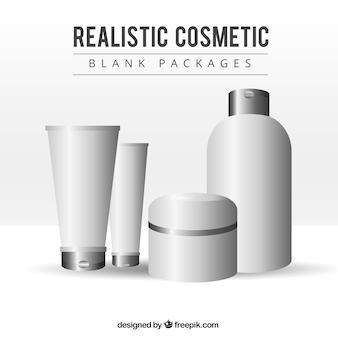Prodotti cosmetici realistici