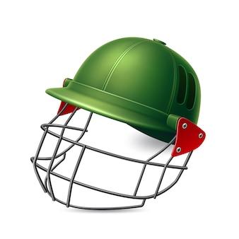 Реалистичный шлем для крикета с защитой для снаряжения вратарских командных видов спорта