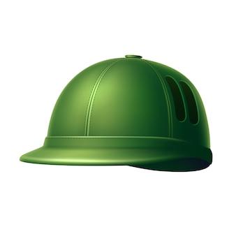 Реалистичный шлем для крикета с защитой для вратаря