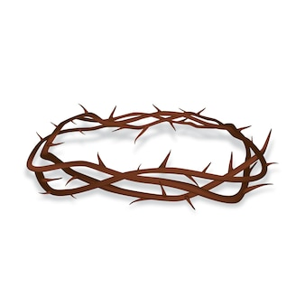 Realistic crown of thorns concept
