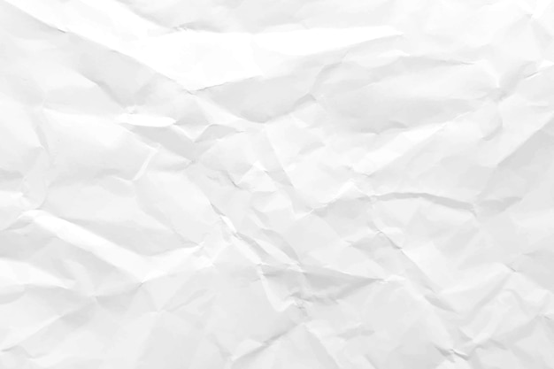 Realistic crumpled paper texture background