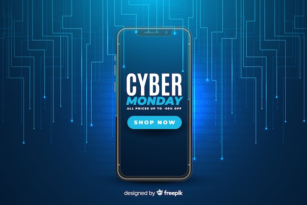 Realistic cyber monday technology
