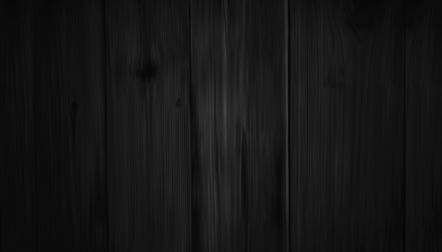 Realistic dark brown wooden wall
