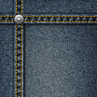 Realistic denim background