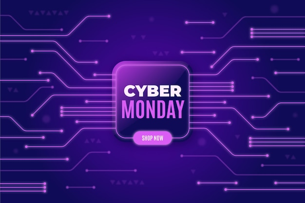 Realistic design technology cyber monday