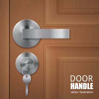 Realistic door downlock