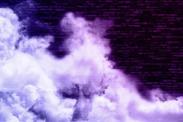 Sfondo di nebbia dinamica realistica