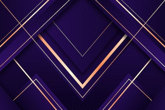 Realistic elegant geometric shapes background