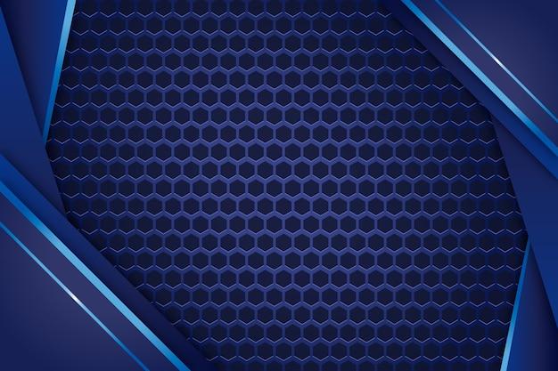 Realistic elegant geometric shapes wallpaper