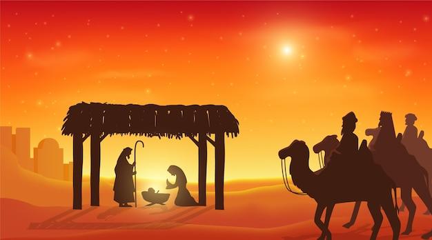 Реалистичная иллюстрация крещения
