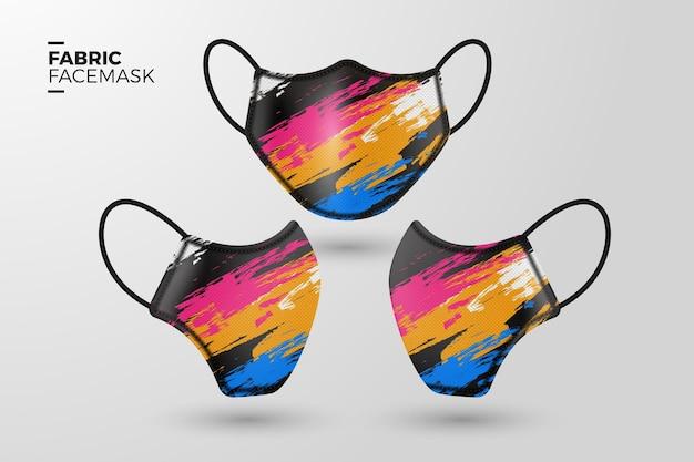 リアルな布製フェイスマスク