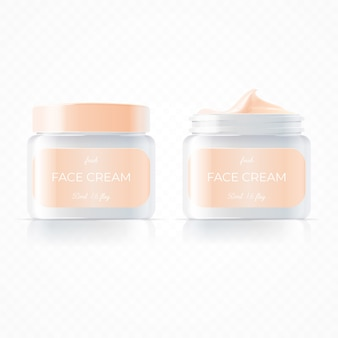 Realistic face cream