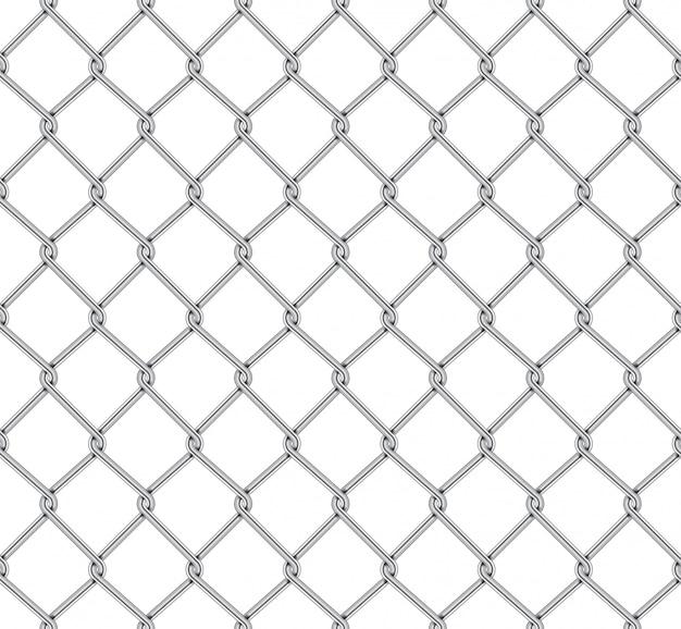 Realistic fence rabitz pattern