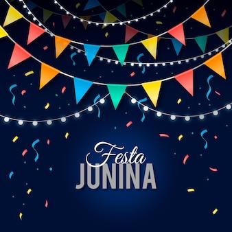 현실적인 축제 junina 그림