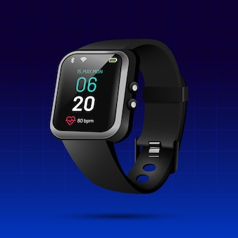 Realistic fitness trackers