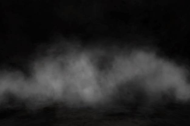 Realistic fog background