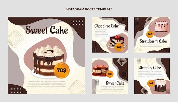 Realistic food instagram post