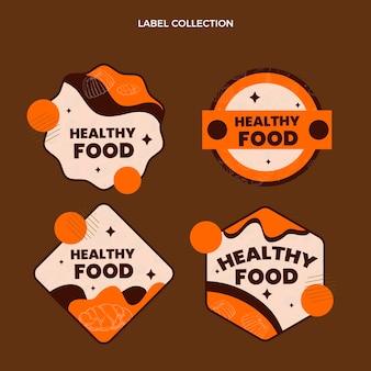 현실적인 식품 라벨 컬렉션