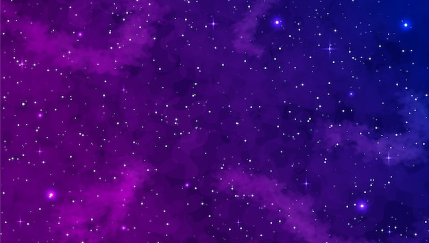 Realistic galaxy background. space exploration