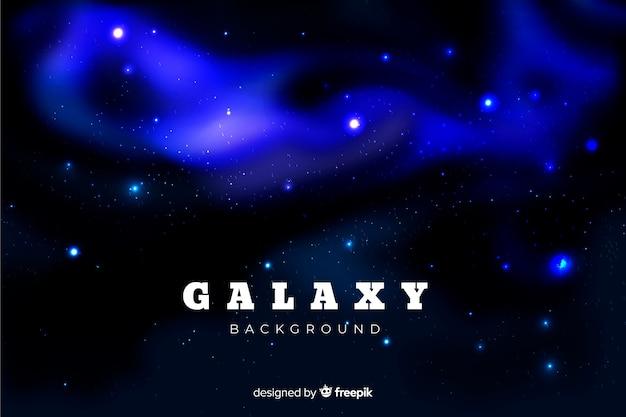 Realistic galaxy background