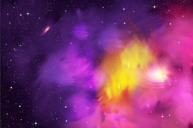 リアルな銀河の背景