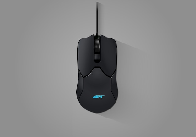 Realistic gaming mouse