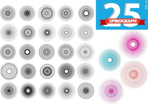 현실적인 기하학적 패턴 장식 선물 로고 템플릿 기하학적 라인 아트 드림 캐쳐