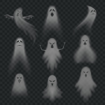 Realistic ghost set