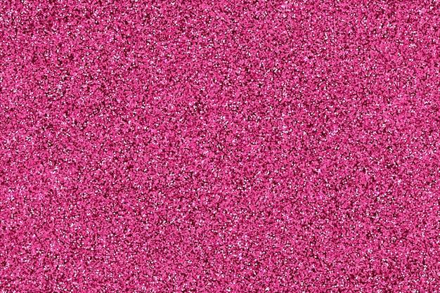 현실적인 매력 핑크 골드 반짝이 입자 배경